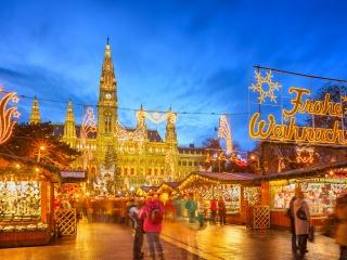 Jarmark adwentowy - Wiedeń